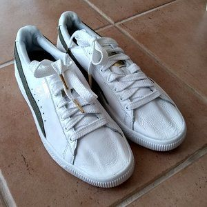 Men's Size 10 Puma Clyde Sneakers Shoes